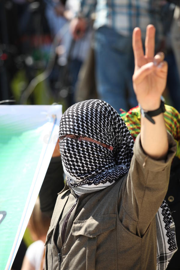 Newroz à Diyarbakir, Turquie. photo libre de droits