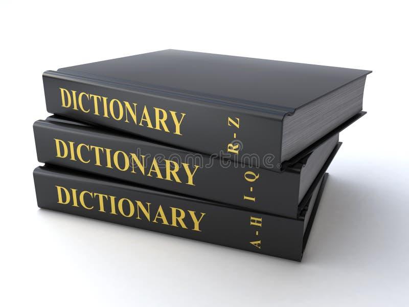 Dizionario royalty illustrazione gratis