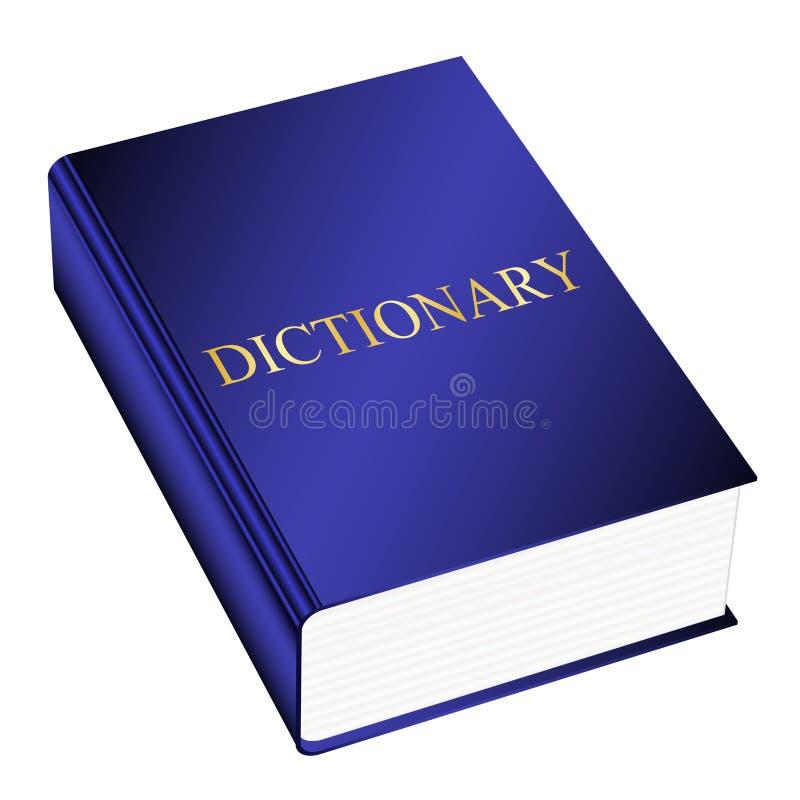 Dizionario illustrazione di stock