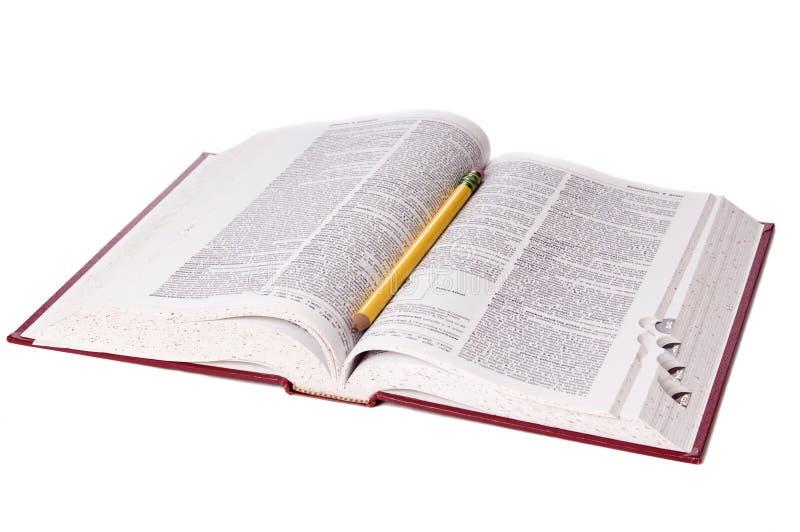 Dizionario immagine stock libera da diritti