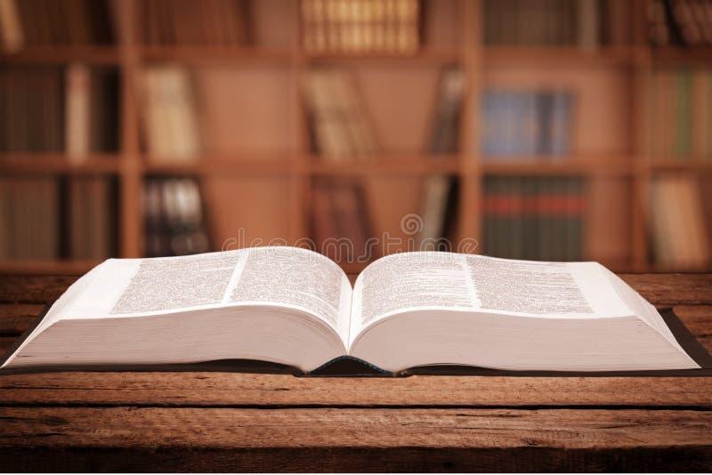 dizionario fotografia stock
