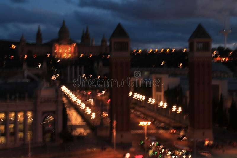 Dizzy City fotos de stock royalty free