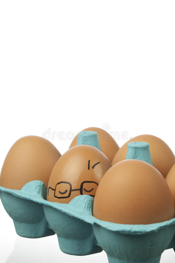Download Dizzy Egg stock illustration. Image of ideas, expression - 27127042