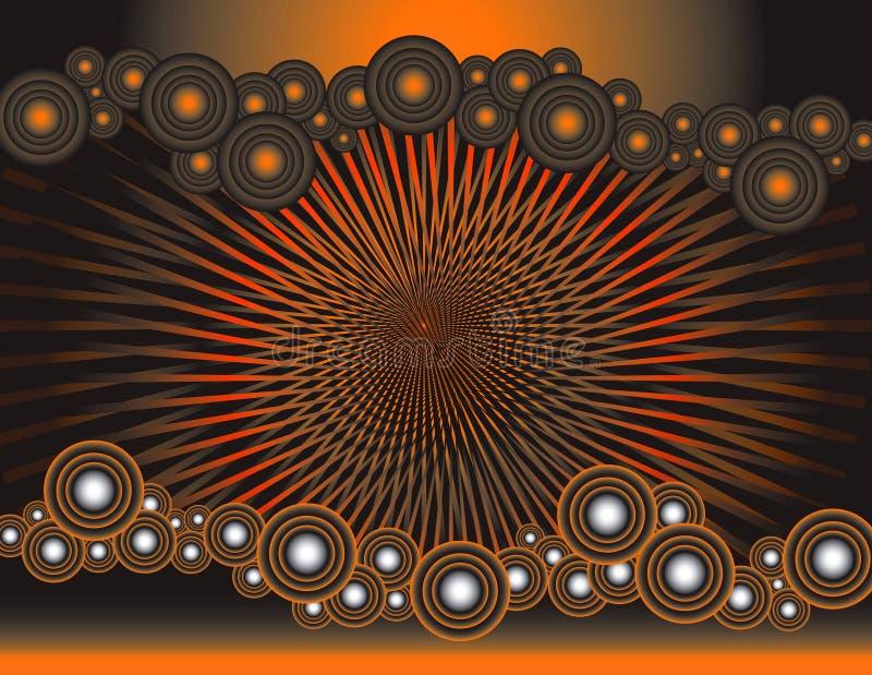 Dizzy Orange stock images