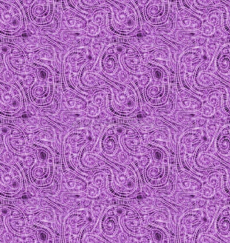 Dizzy Pink Labirynth Seamless Background royalty free illustration