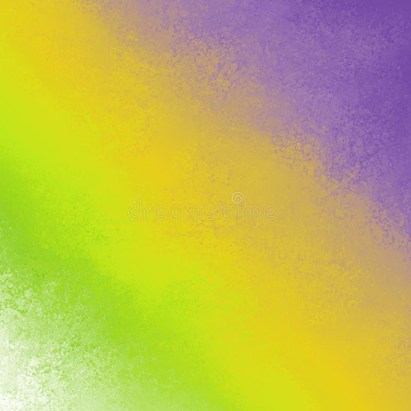 Djärva ljusa diagonala färgstrimmor på abstrakt bakgrundsdesign i färgrik limefruktgräsplan gulnar lilor, och snyltad vit fodrar arkivfoton