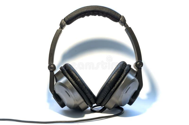DJ的耳机 免版税图库摄影