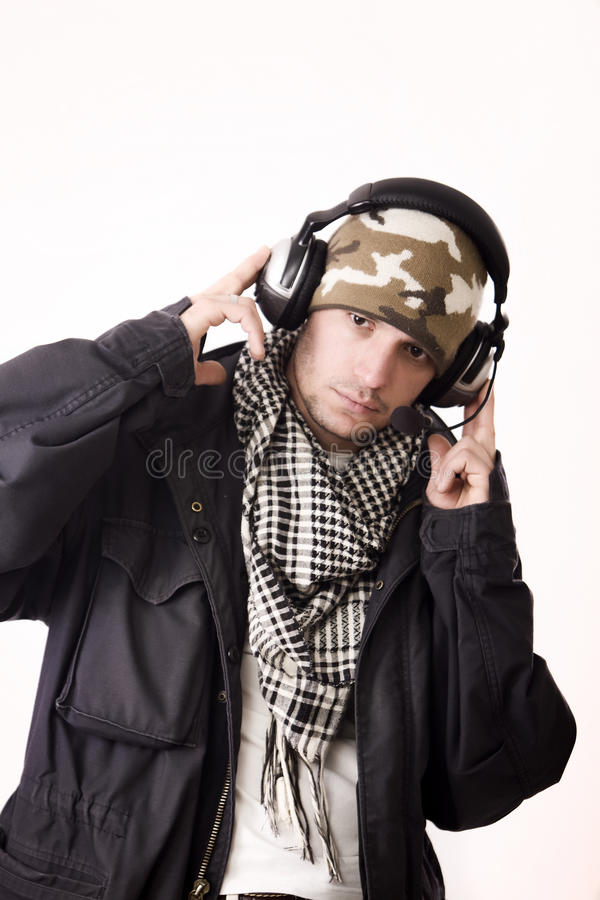 DJ lizenzfreies stockbild