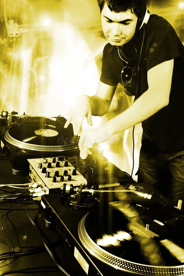 DJ imagen de archivo libre de regalías