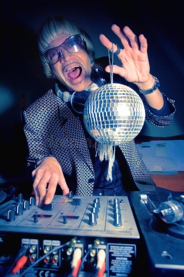 Download DJ stock image. Image of party, club, master, mixer, discotheque - 13320007