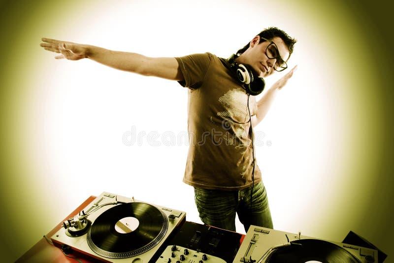 DJ fotos de archivo libres de regalías