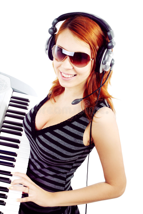 DJ imagem de stock royalty free