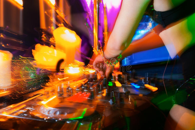 DJ fotografia de stock royalty free
