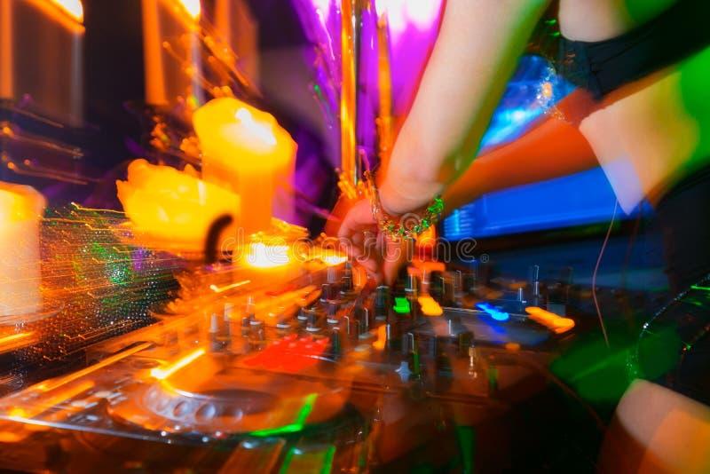 DJ foto de stock