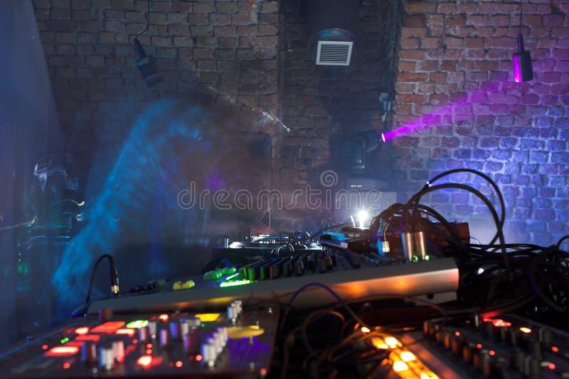 DJ fotografia de stock