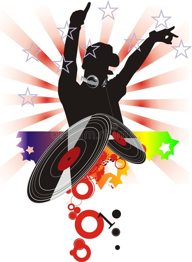 Download Dj stock illustration. Image of sound, illustration, nightclub - 6313863