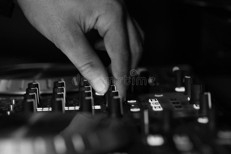DJ stockfoto