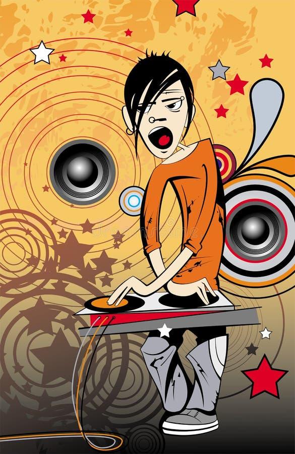 DJ libre illustration