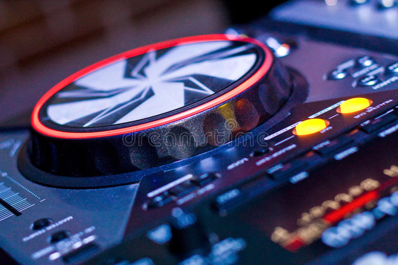 Download DJ console stock photo. Image of disco, electronics, electronic - 13831404
