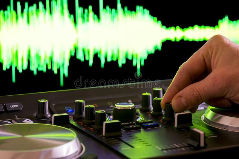 DJ controler στοκ φωτογραφίες με δικαίωμα ελεύθερης χρήσης