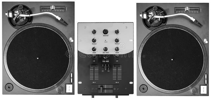 DJ Decks stock image