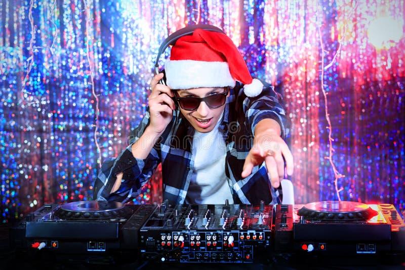 DJ-Disco stockfoto