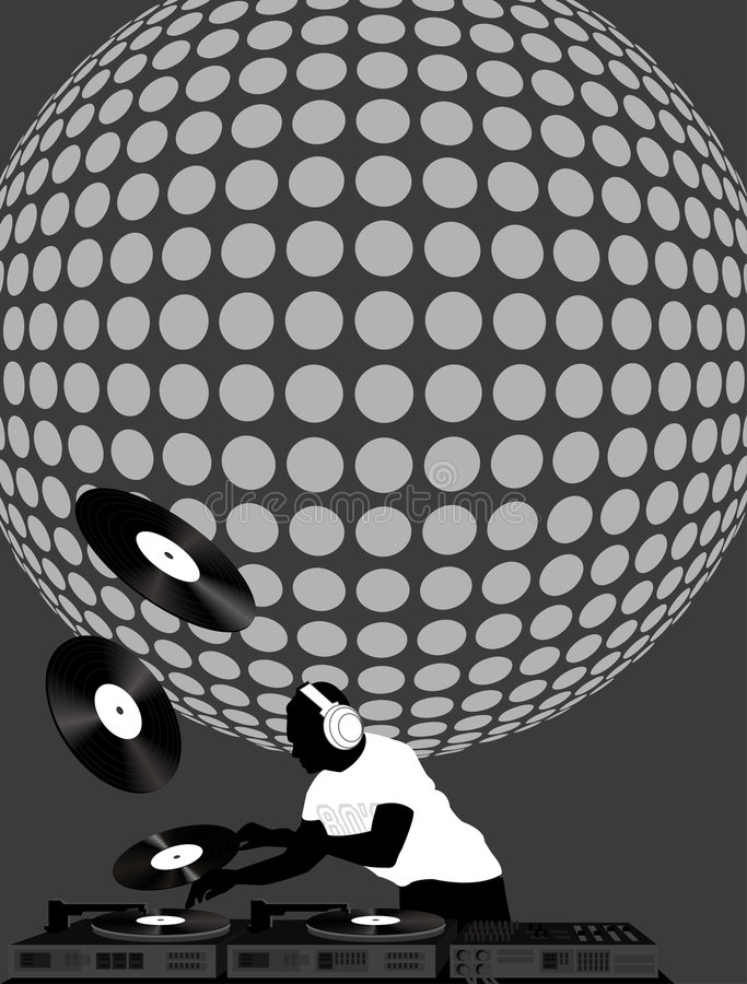 Download Dj And Disco Ball Stock Images - Image: 7554594