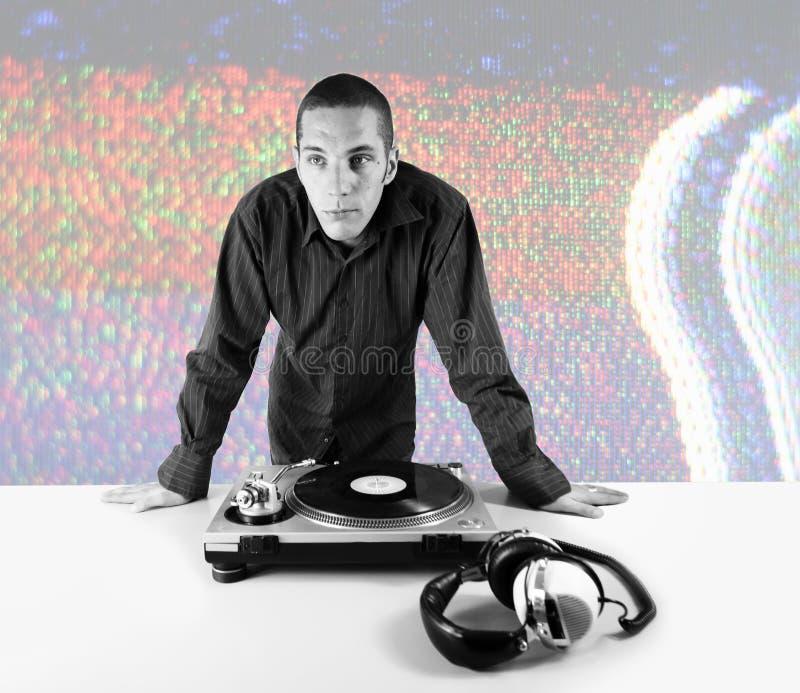 DJ fresco foto de stock royalty free