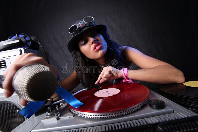 DJ fresco imagem de stock royalty free