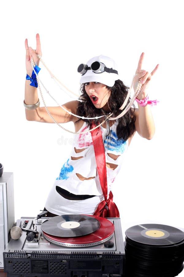 DJ fresco imagen de archivo libre de regalías