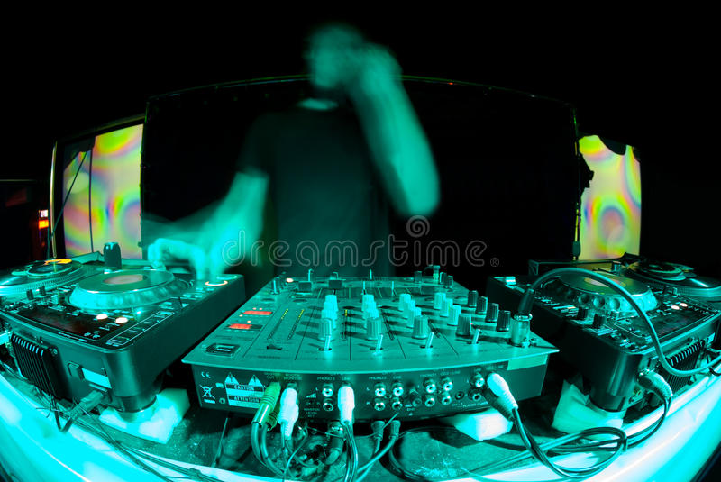 Dj Ghost Royalty Free Stock Photography