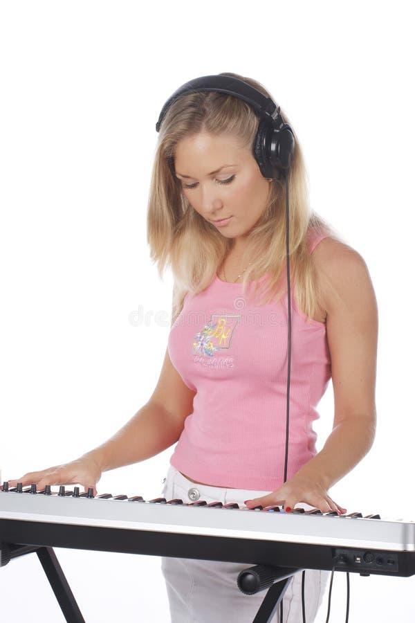 DJ Girl Stock Photography