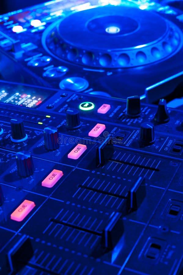 DJ-Hilfsmittel stockbilder