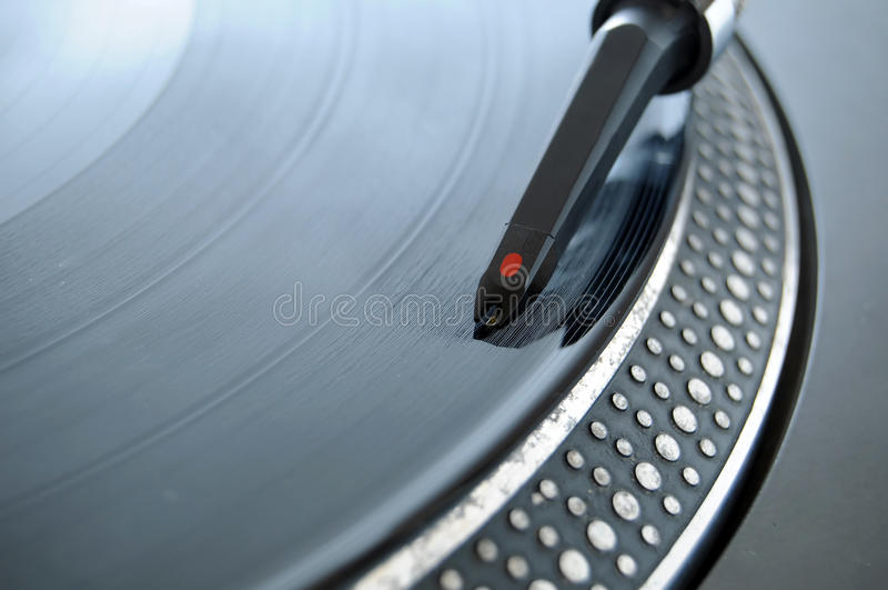 dj igły rejestr zdjęcie royalty free