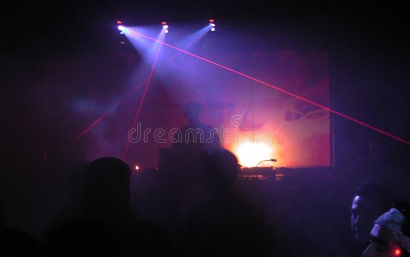 dj laser zdjęcie royalty free