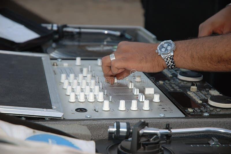 DJ legen ver lizenzfreie stockfotos