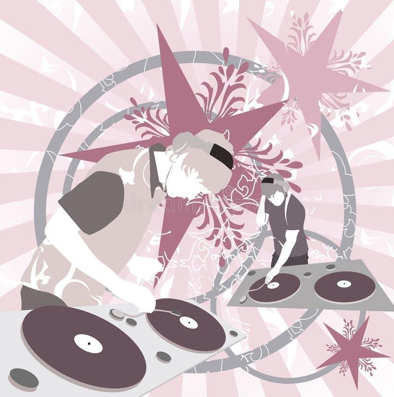 DJ mischen lizenzfreie abbildung