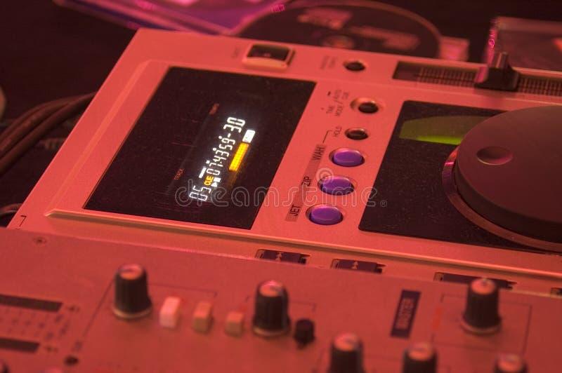DJ-Mischer lizenzfreie stockfotos