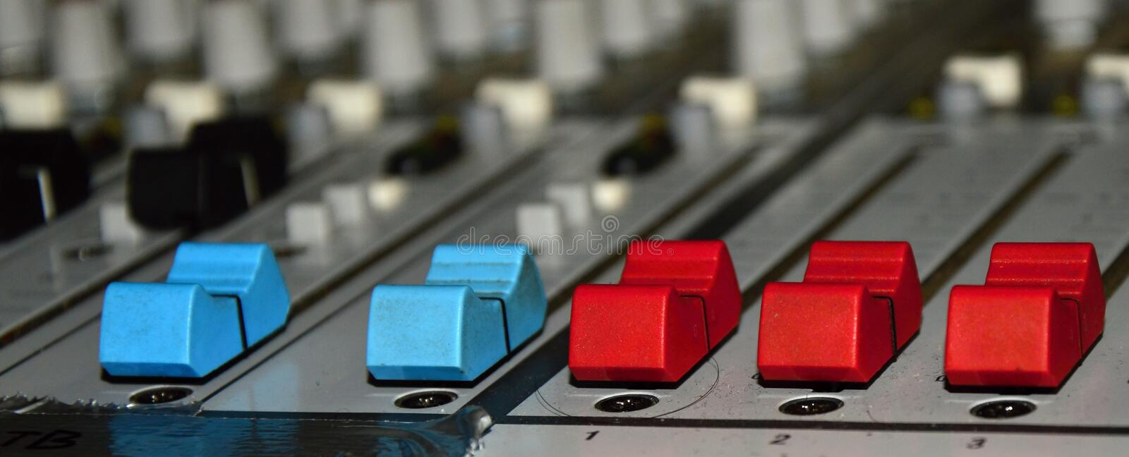 Dj mix royalty free stock photography