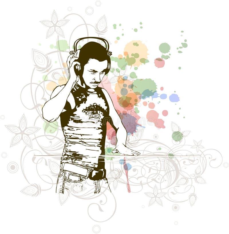 Free DJ & Music Colors Mix Royalty Free Stock Photos - 18176028