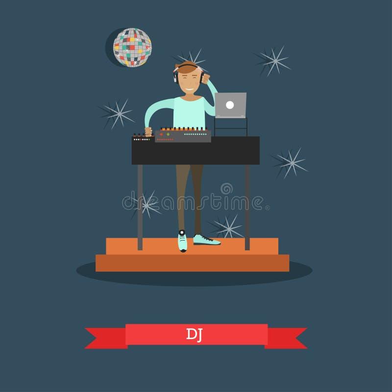 Dj Boy Party Mix Music Stock Illustrations – 33 Dj Boy Party
