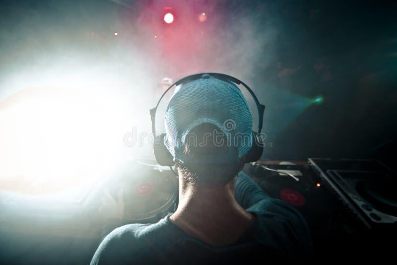 Dj-musikhörlurar royaltyfria foton