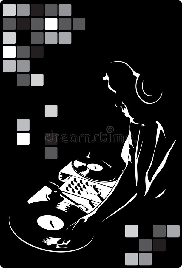 DJ no preto