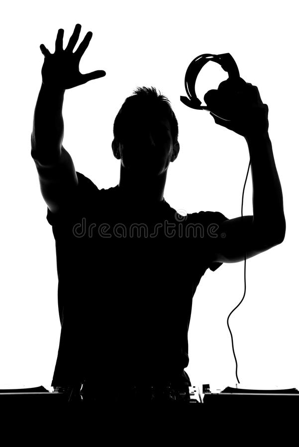 DJ stock photo. Image of background, attractive ...