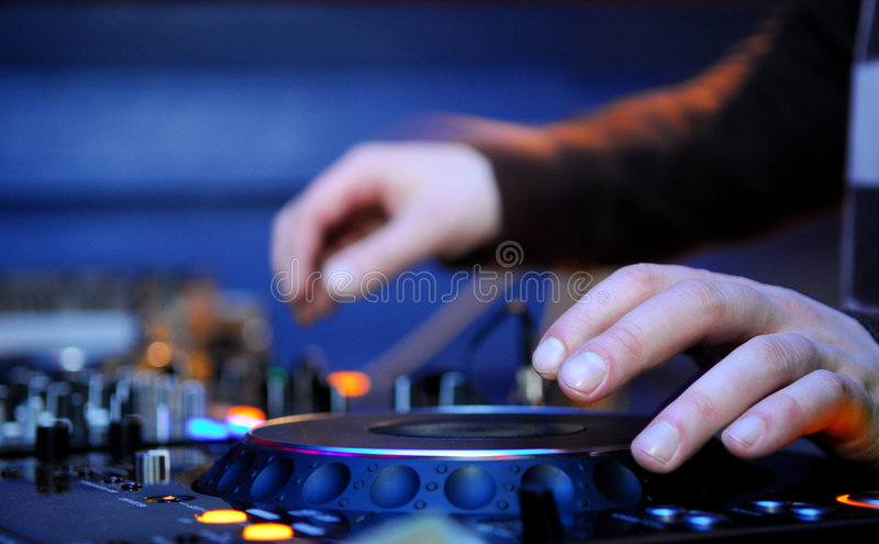 Dj Panel royalty free stock image
