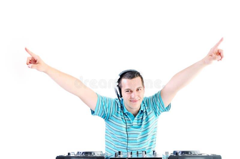 DJ party lizenzfreie stockfotos