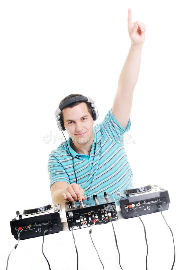 DJ party lizenzfreies stockbild