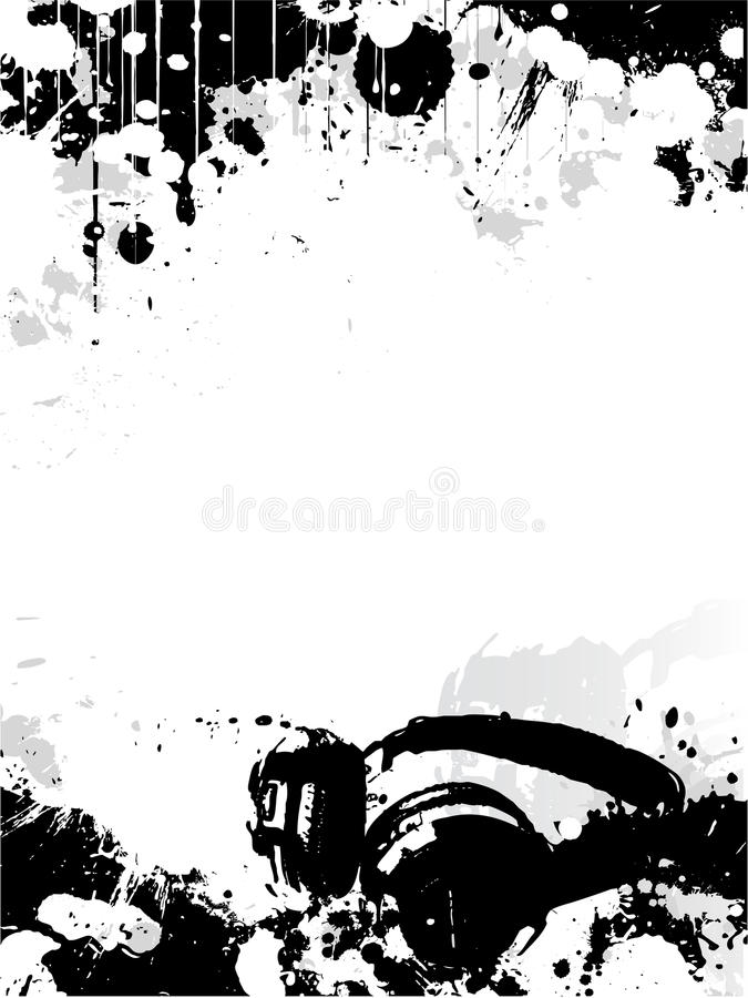 dj poster background  DJ poster background stock vector. Illustration of headphones - 9570879