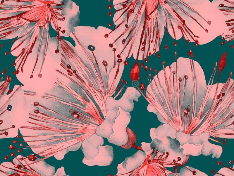 Dj?rv blom- modell stock illustrationer