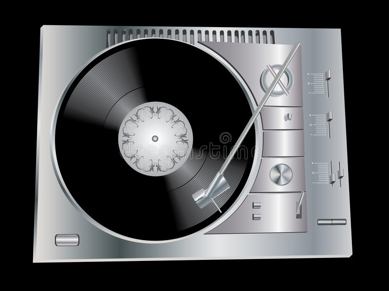 DJ S Deck Royalty Free Stock Photo